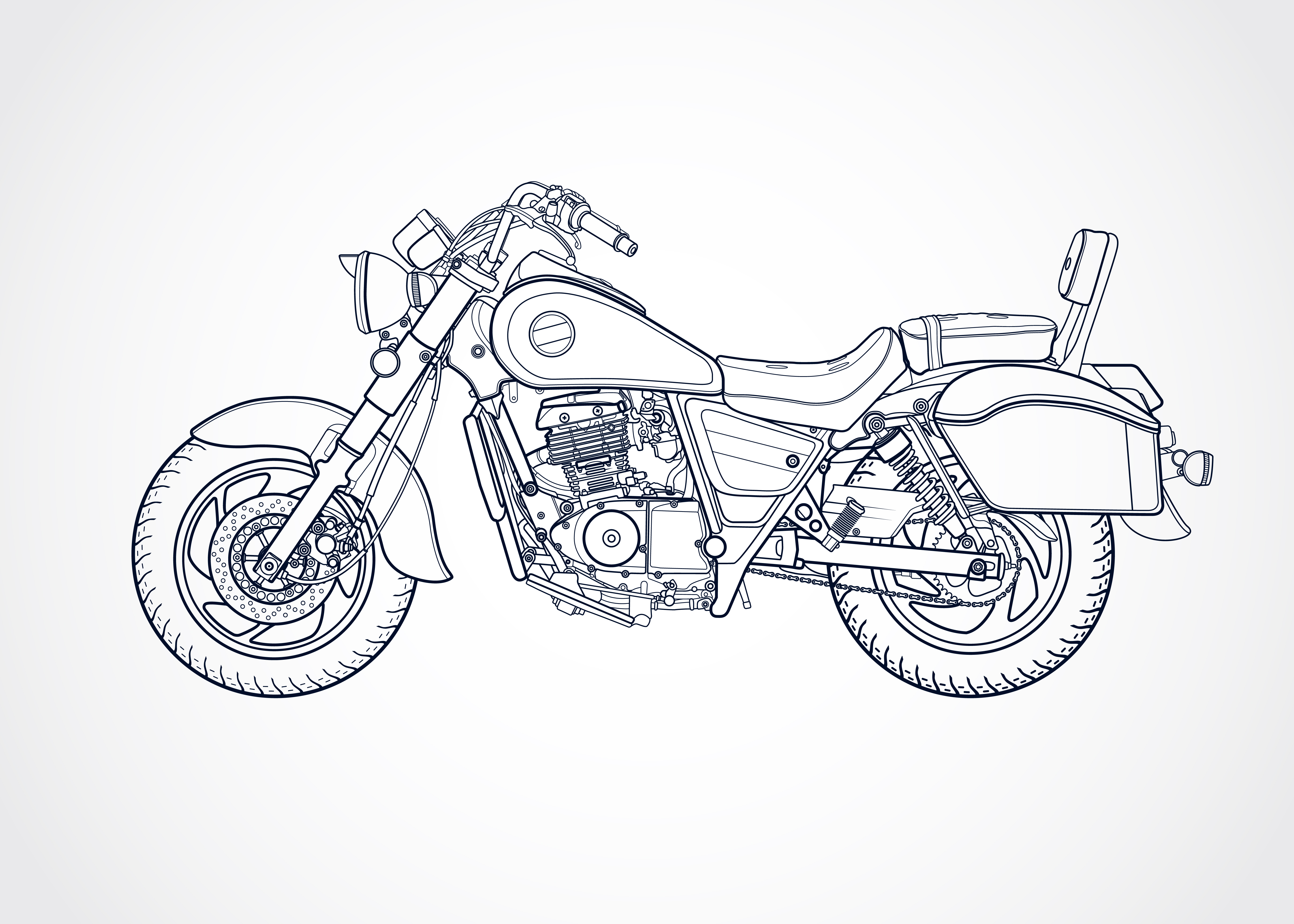 Motorcycle 4008