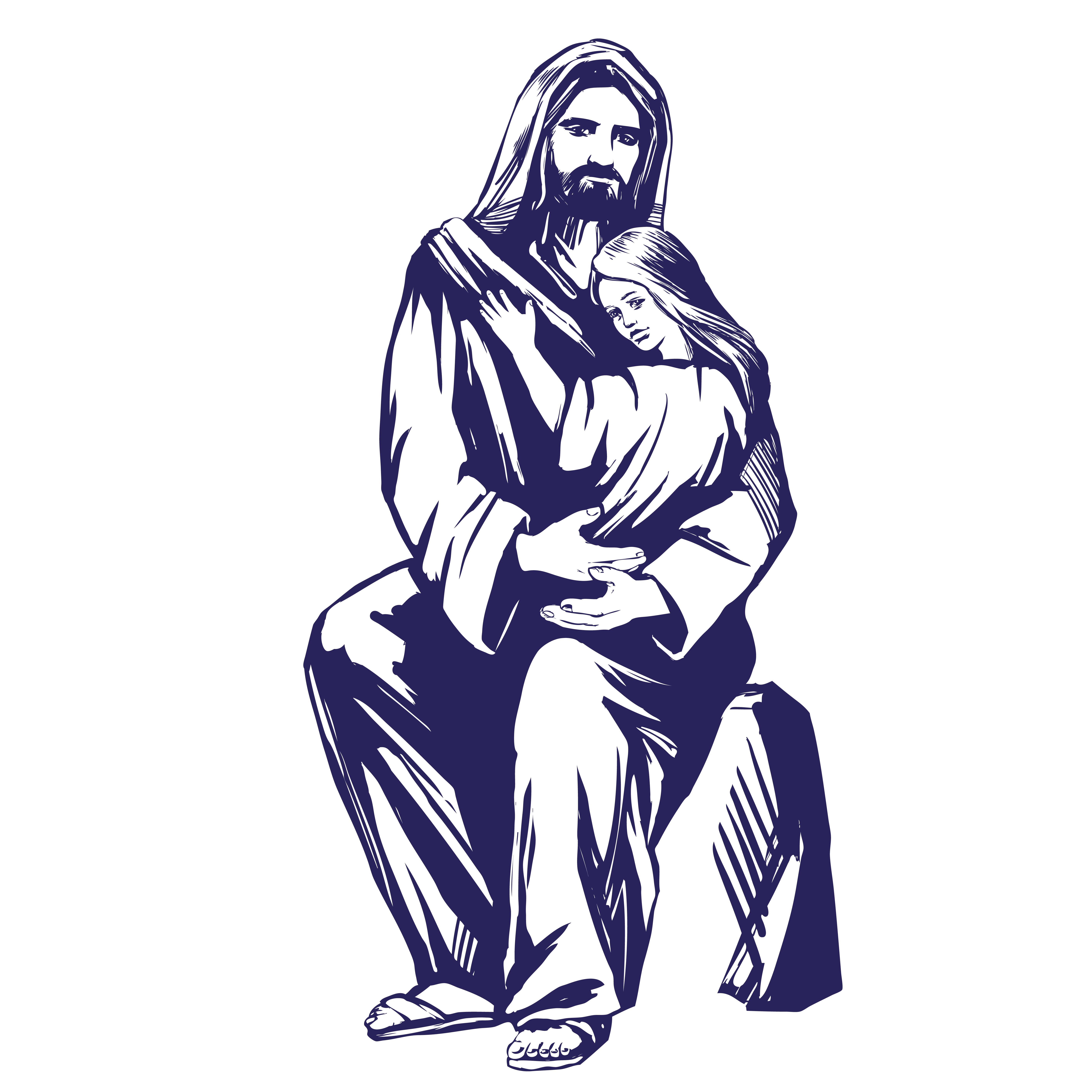 Jesus with child 3002