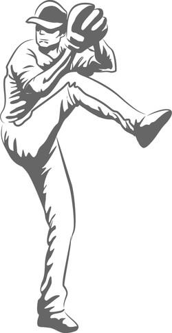 Baseball pitcher 6001