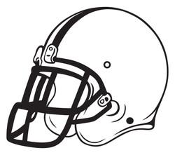 Football helmet 6007