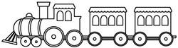 Toy train 3008
