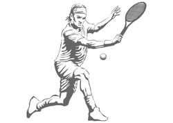 Tennis player 6016