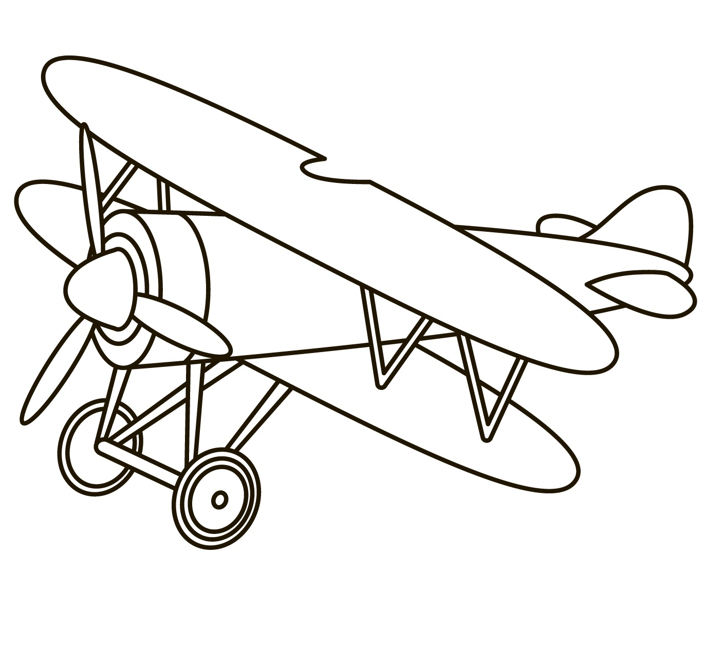 Toy airplane 3005