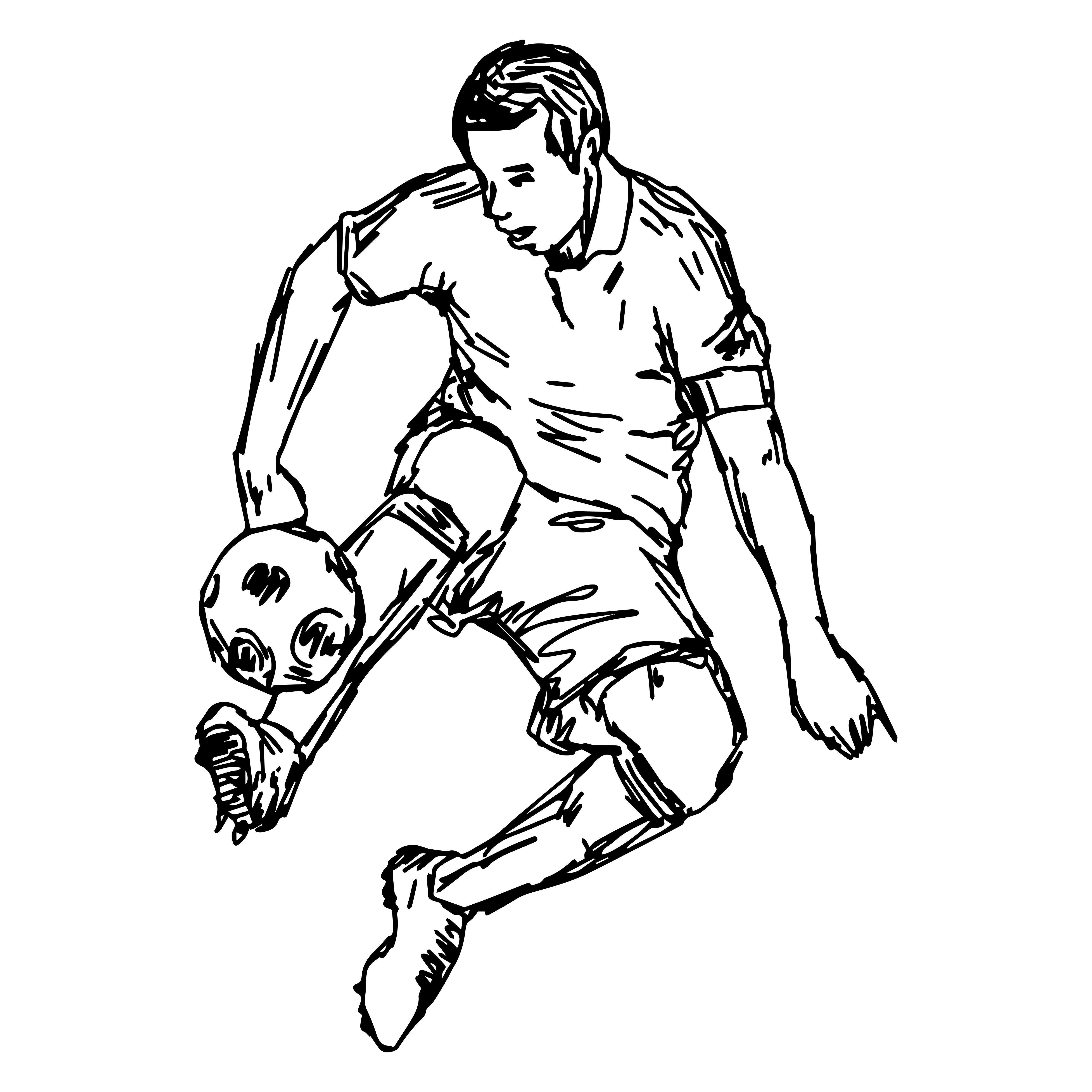 Soccer player 6014
