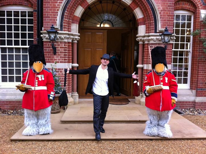 Me been welcomed by Wombles yeah!!!.jpg