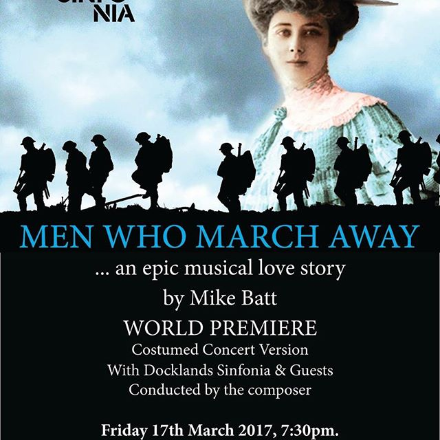 I will be choreographing this show and working with Mike Batt yeah!!!