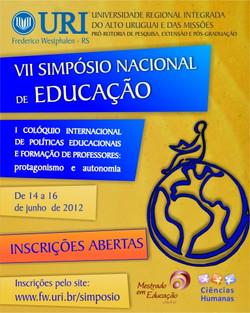 2012. VII SNE da URI.