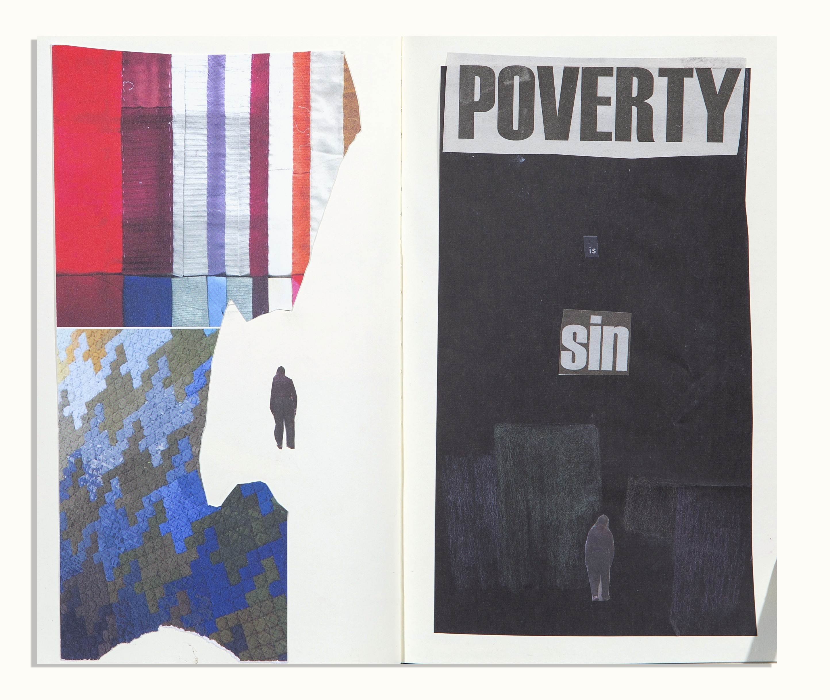 poverty collage