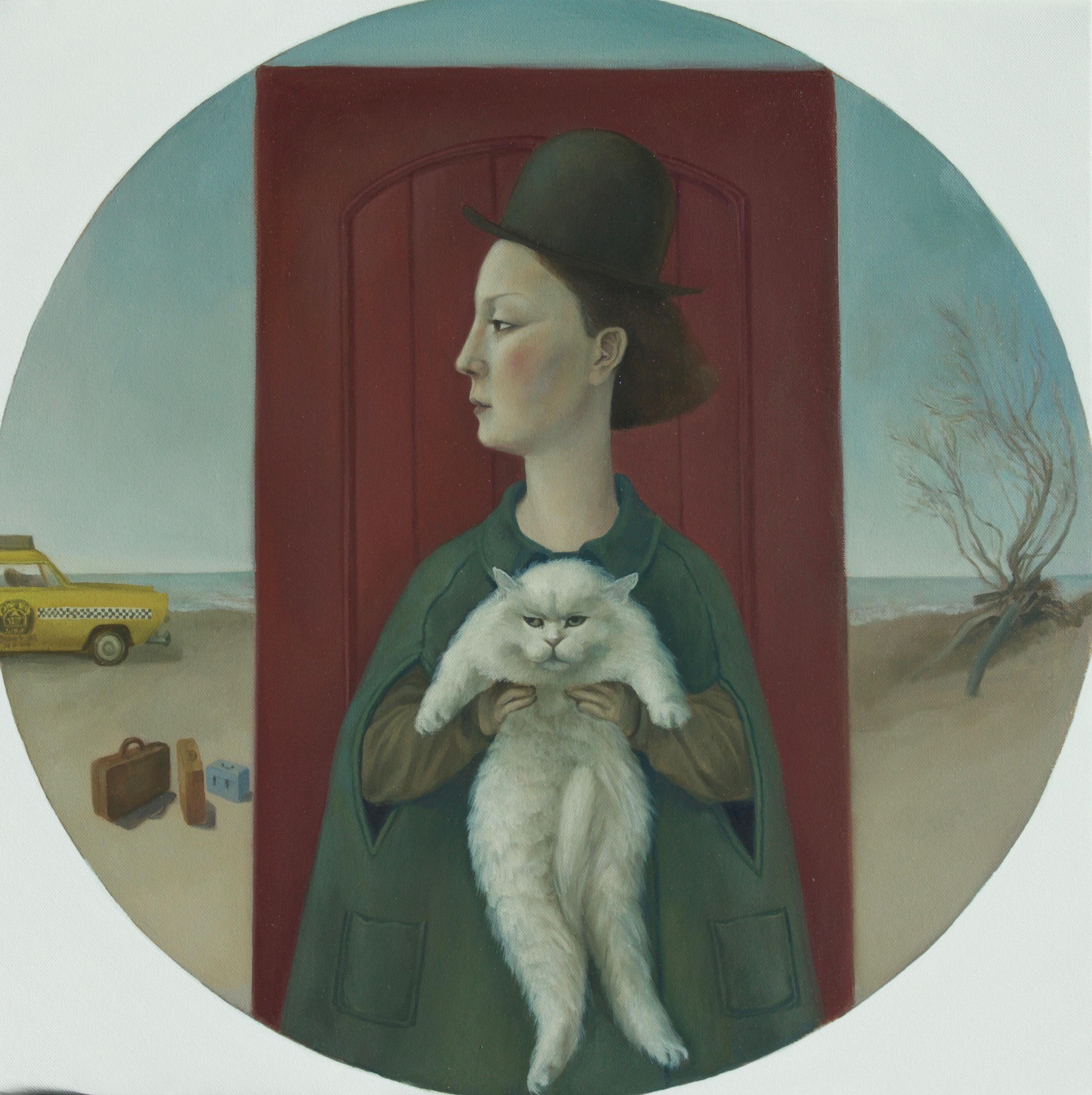 Self Portrait w Cat