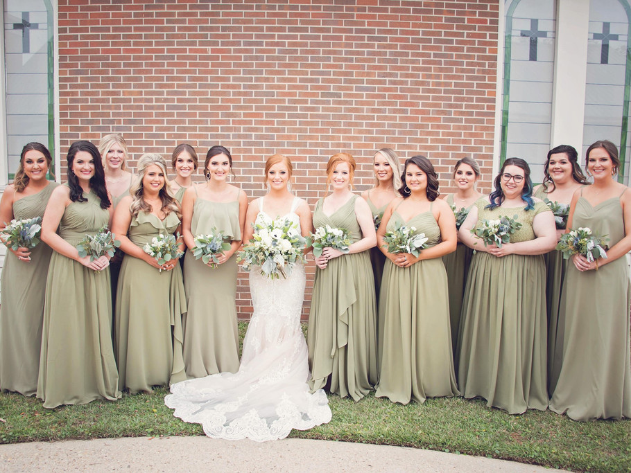 Bridesmaids and Bride | Bridal Party