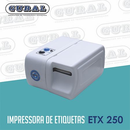 Impressora de etiquetas ETX 250