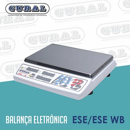 Balança eletrônica ESE/ESE WB
