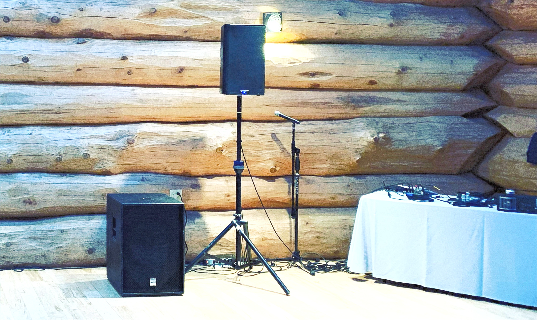 Wedding Reception Sound System Rental