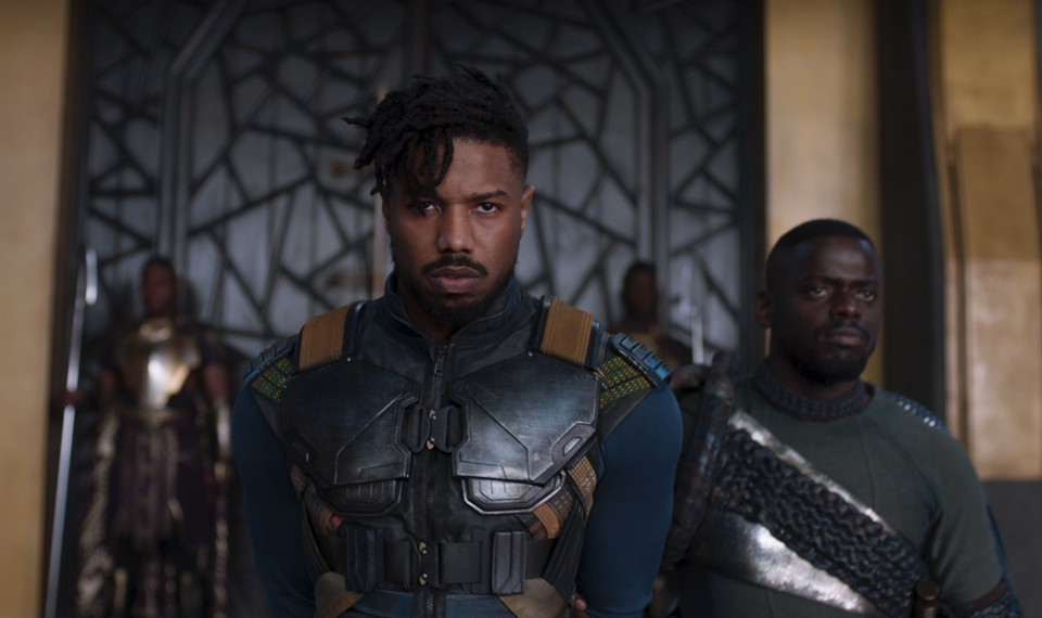 Killmonger from Black Panther