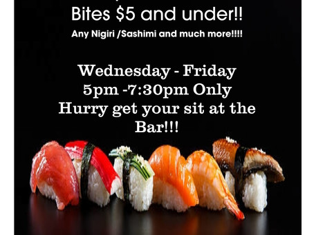 Going on NOW @ Pho Shobu Special!!!