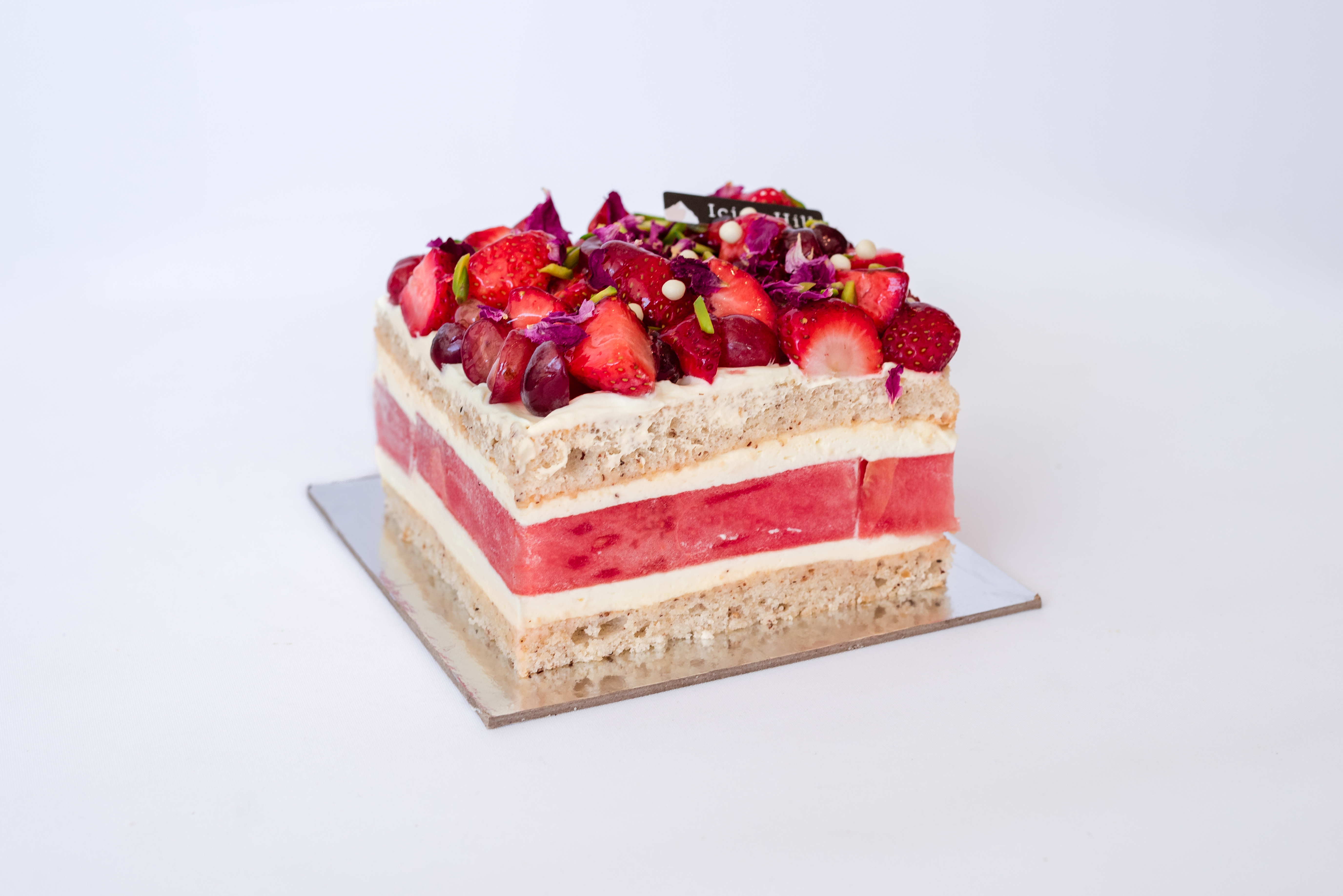 Rose Watermelon Cake