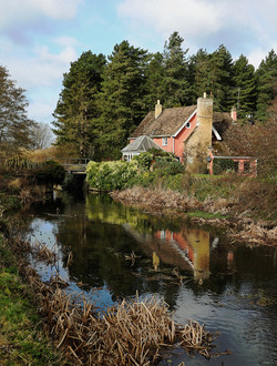 Fullers Mill by the River Lark