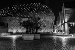 Xmas Arc at Night