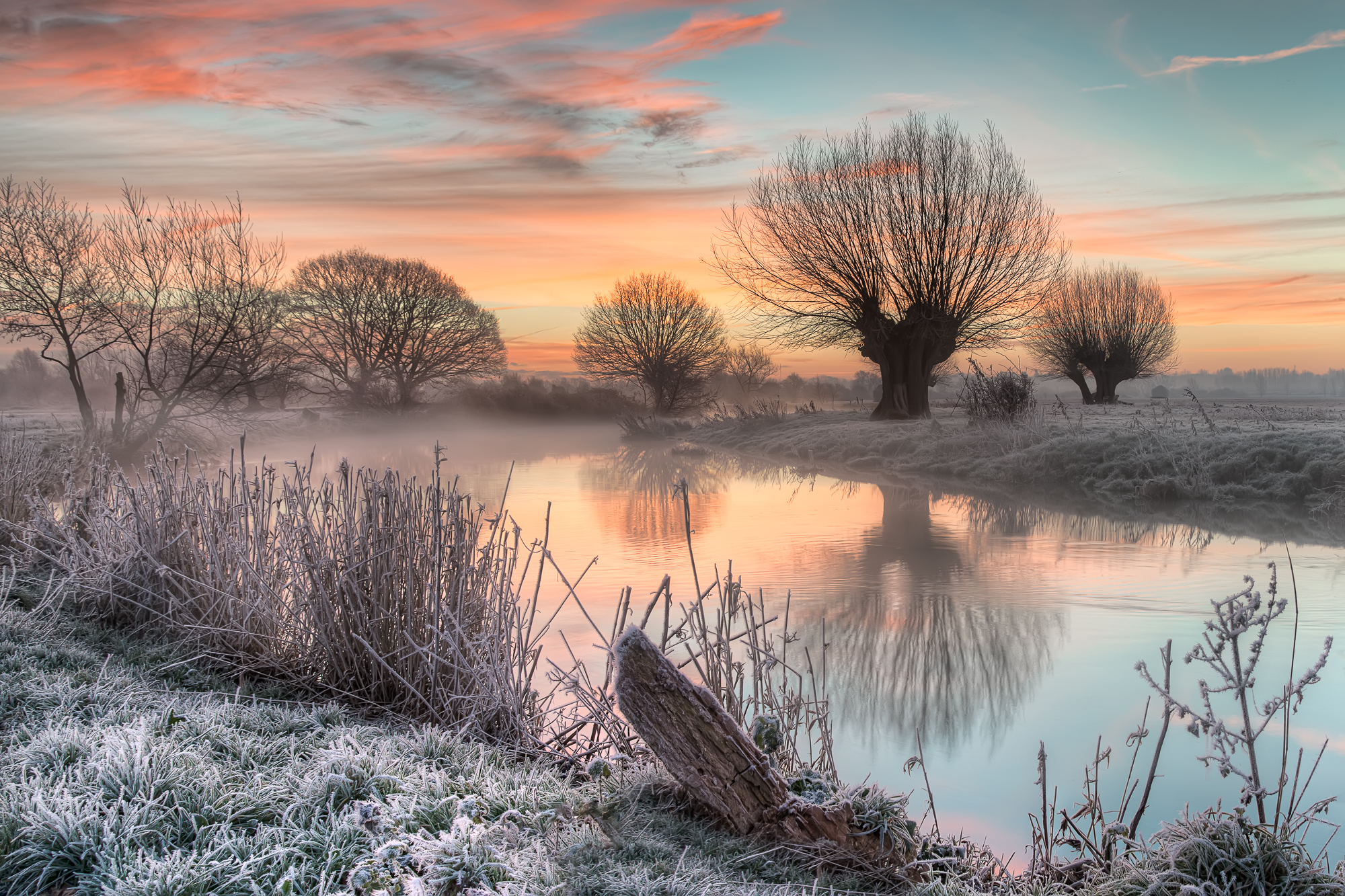 A Winters Morning in Constable Country