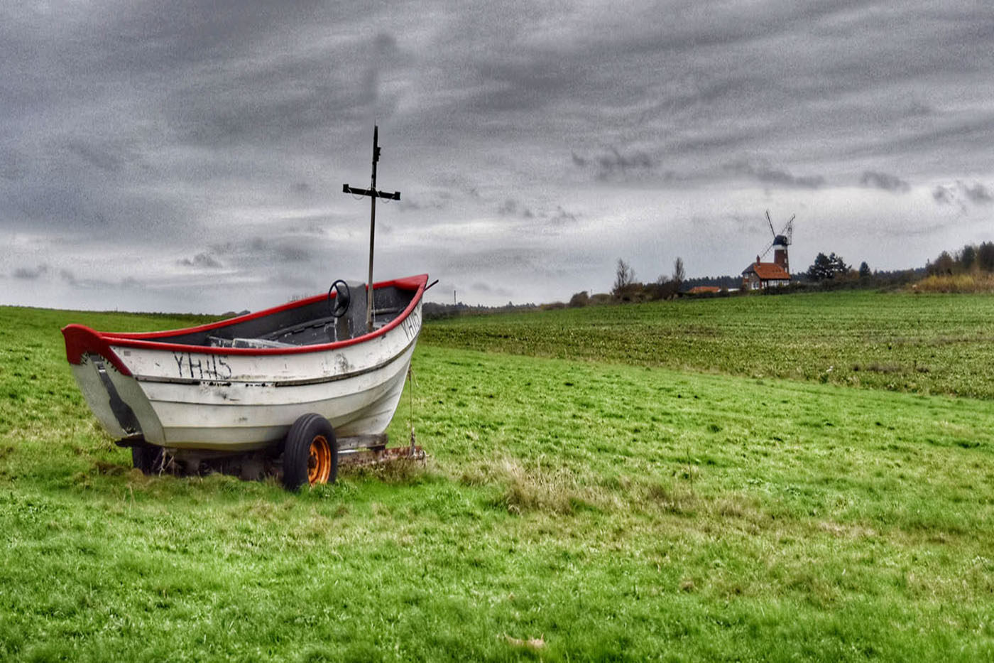 The Boat Lost in Cley