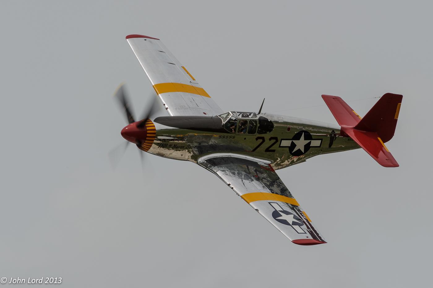 Red Tail P51 Mustang