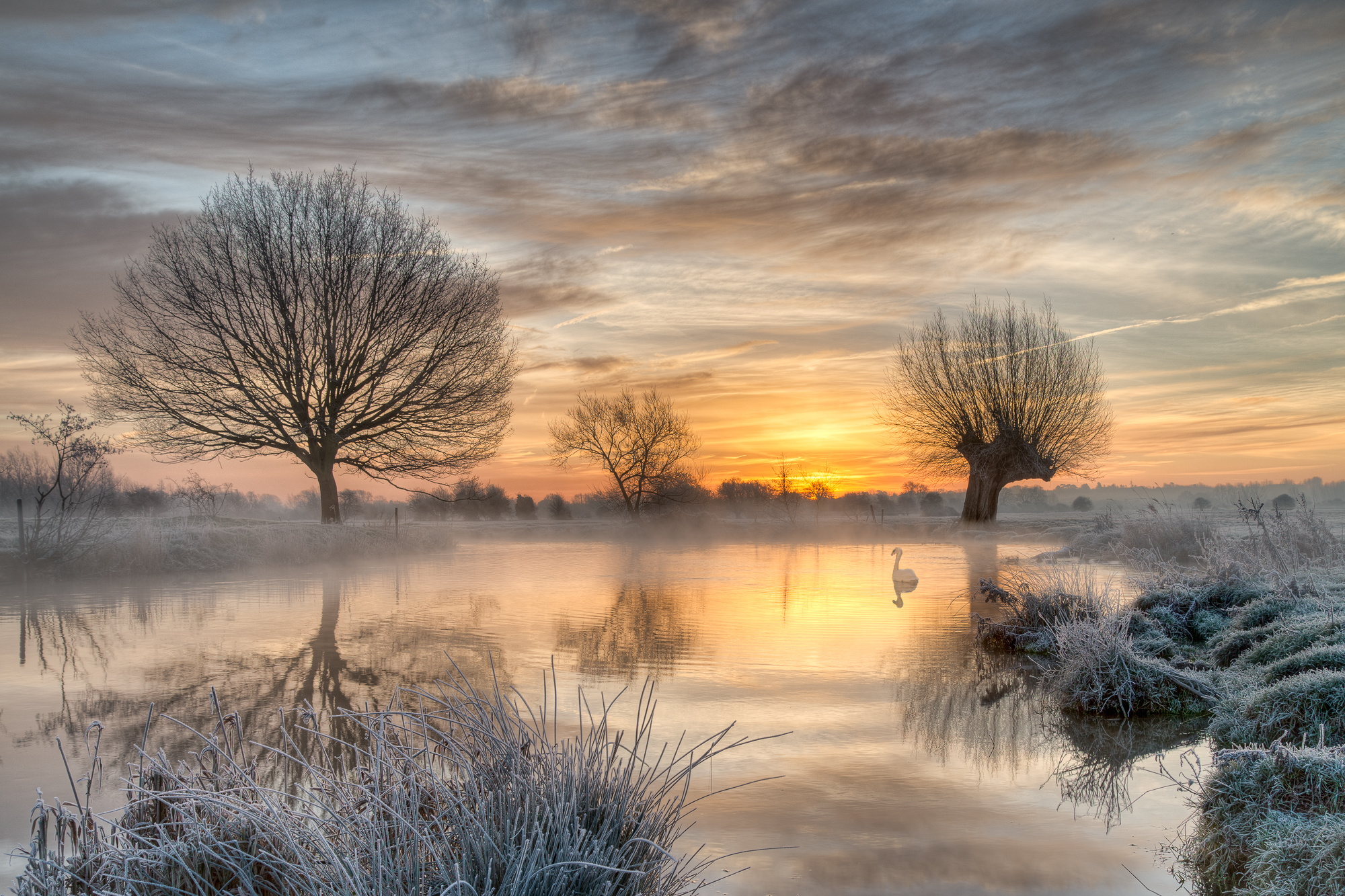 Mist and Frost on the Stour