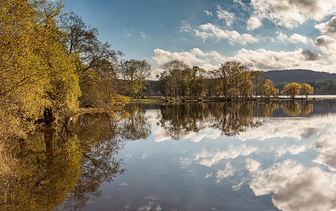Loch Ard reflections