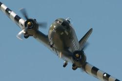 Dakota ZA947 Fly past