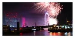 NYE on the Thames