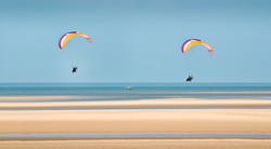 Paragliding at Wells