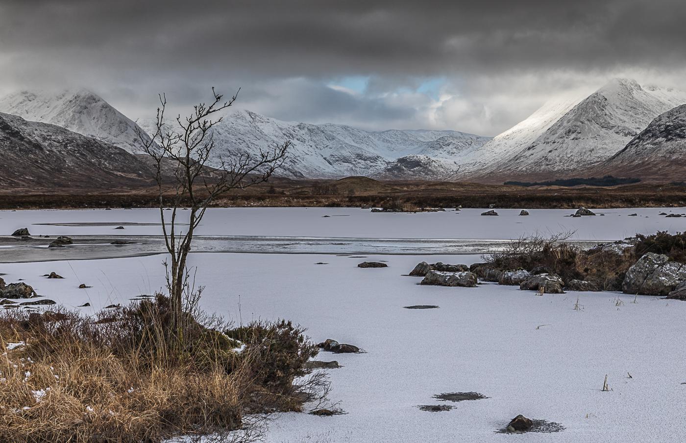 Winter in Rannoch Moor