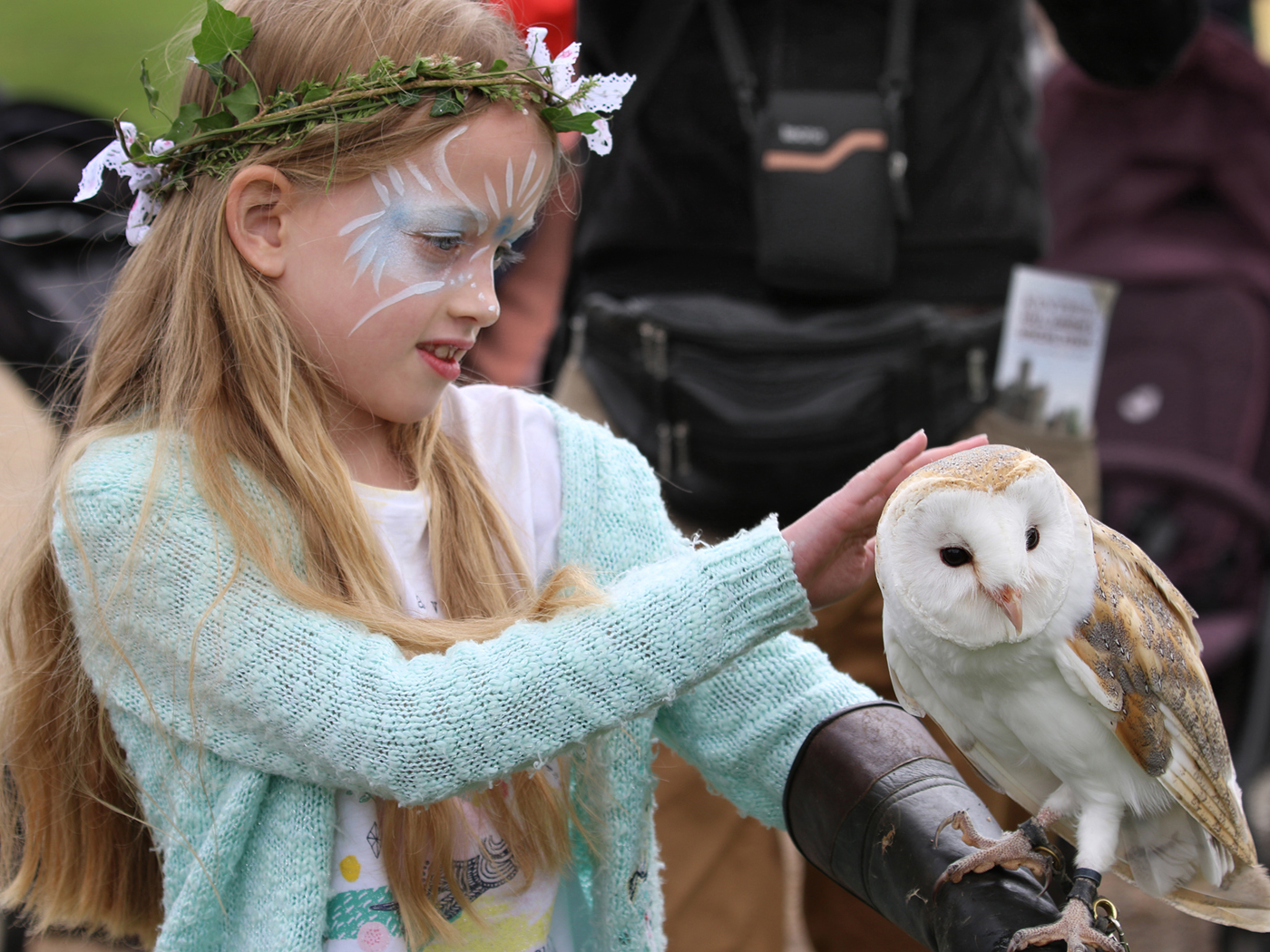Kentwell Fairy And Her Owl