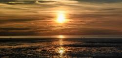 Heacham Sunset on August Bank Holiday