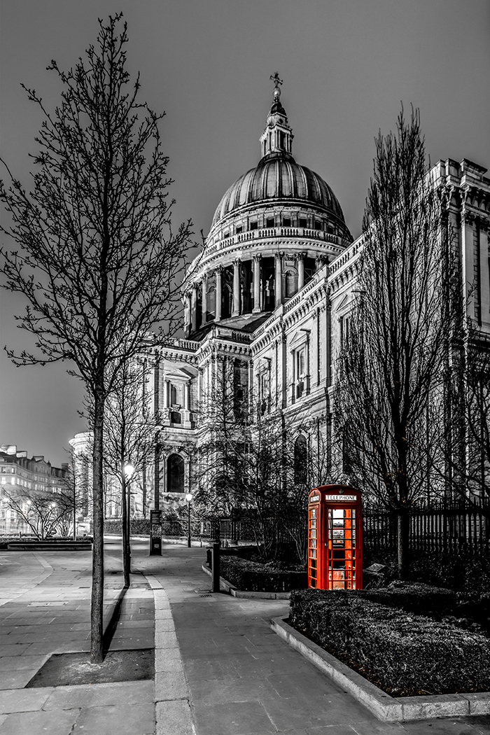 St Paul's Phonebox