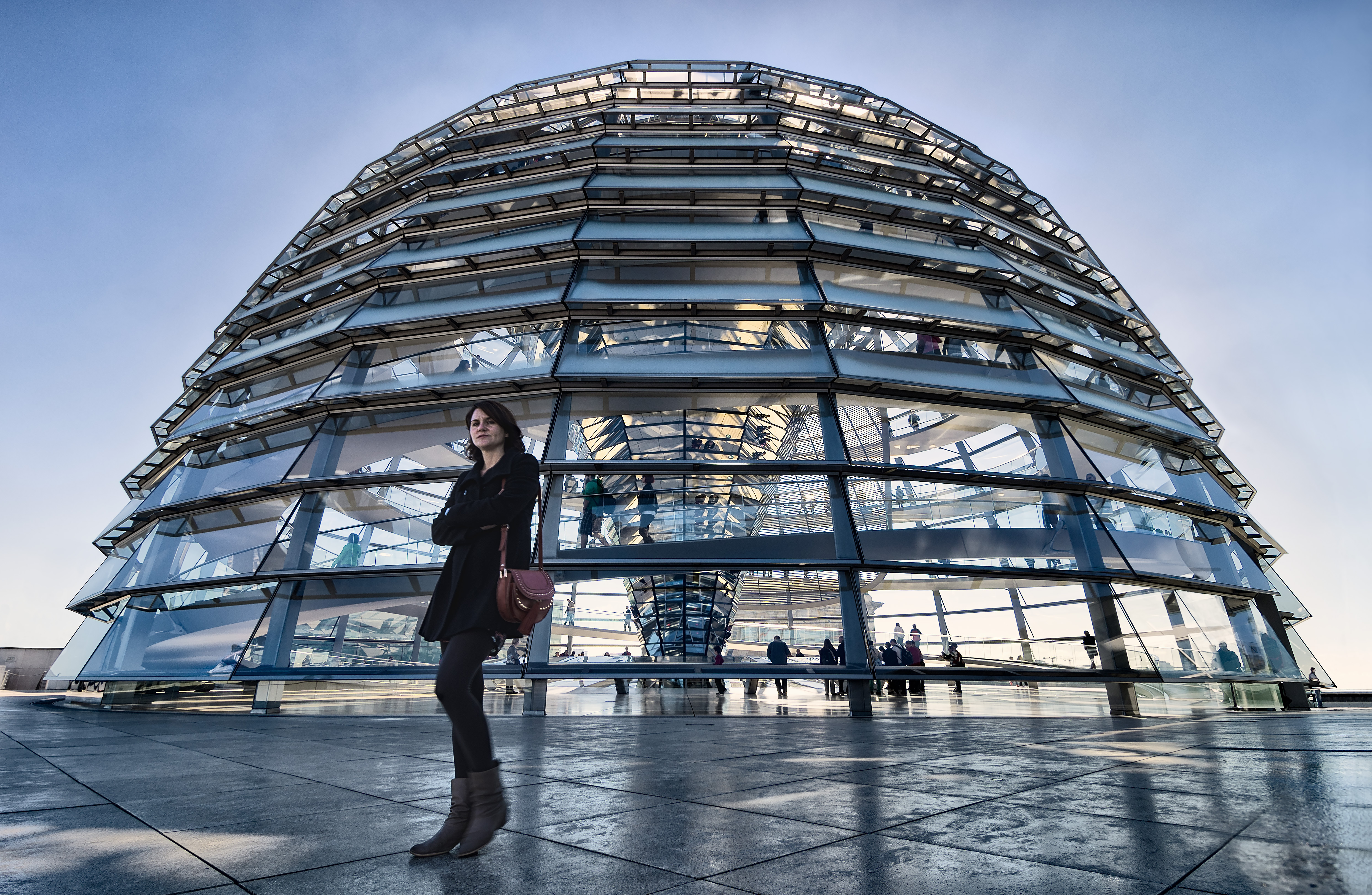 Morning at The Reichstag