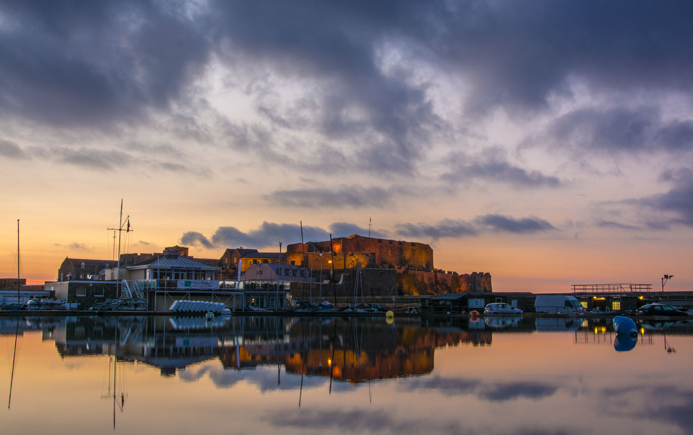 Castle Cornet at Sunrise
