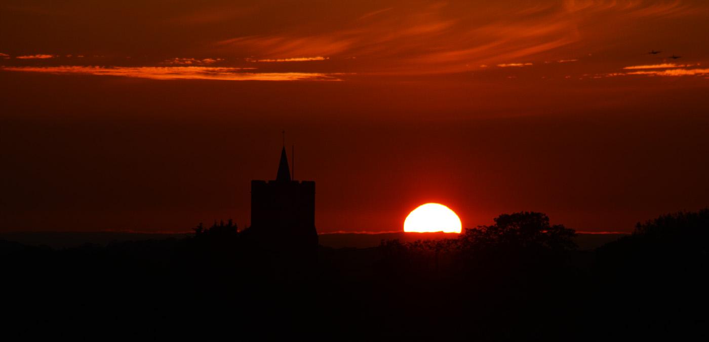 Bardwell Sunset--Jenny Bradley