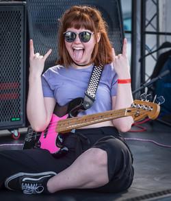 Rocking at Thetford Music Festival