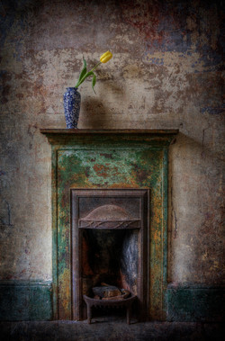 The Green Fireplace