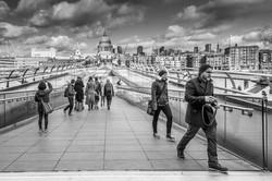 St Paul's and the bridge