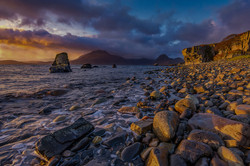 Sunset Over the Cuillin Hills