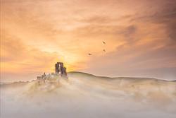 Misty Corfe at dawn