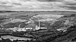 Castleton cement works in the Hope Valley
