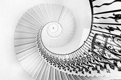 The Tulip staircase