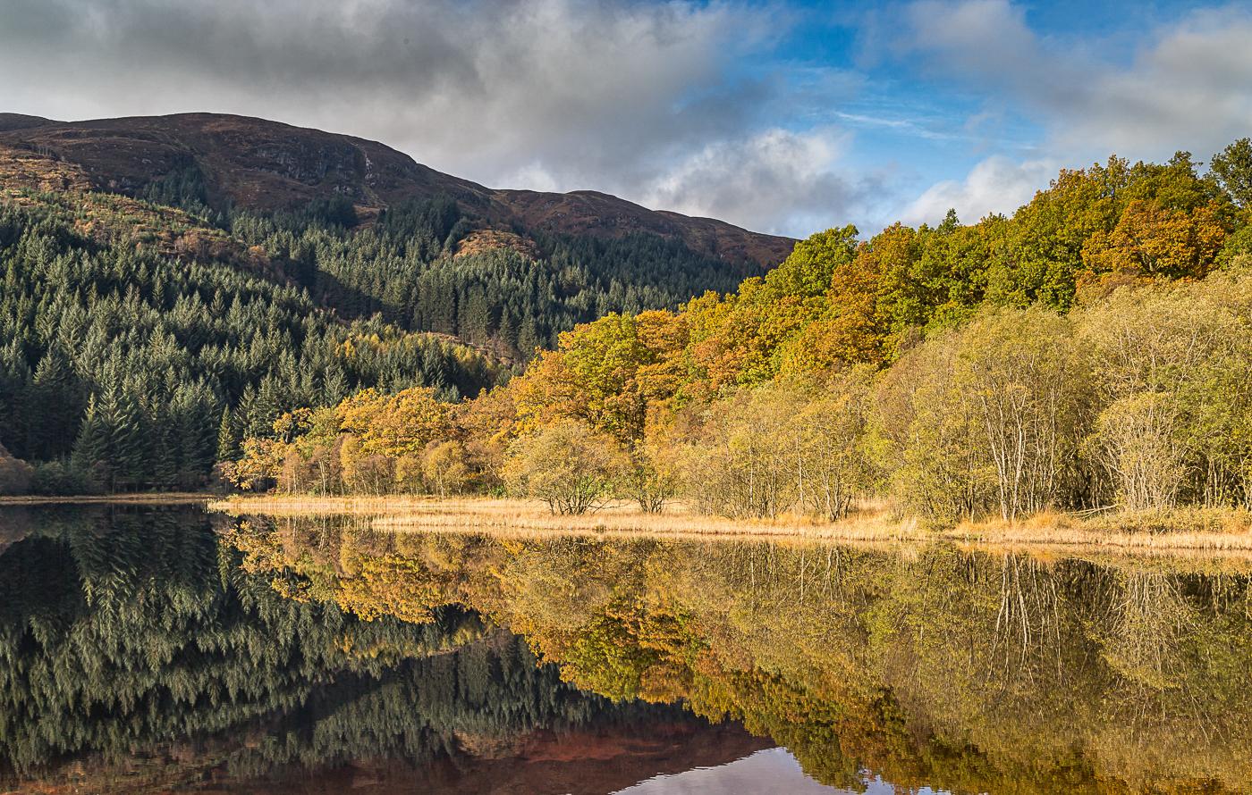 Loch Chon in the autimn