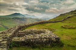 Hardknott fort and approaching storm#Kevin Williams#Int