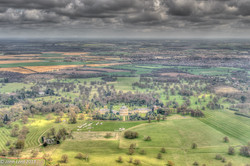 Ickworth Park from the Air