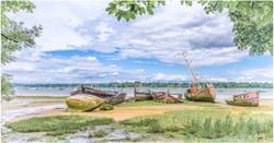Old Boats at PinMill