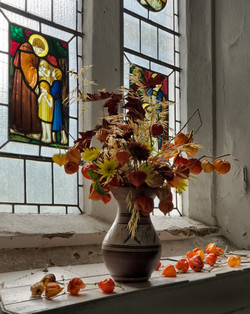 Autumnal arrangement