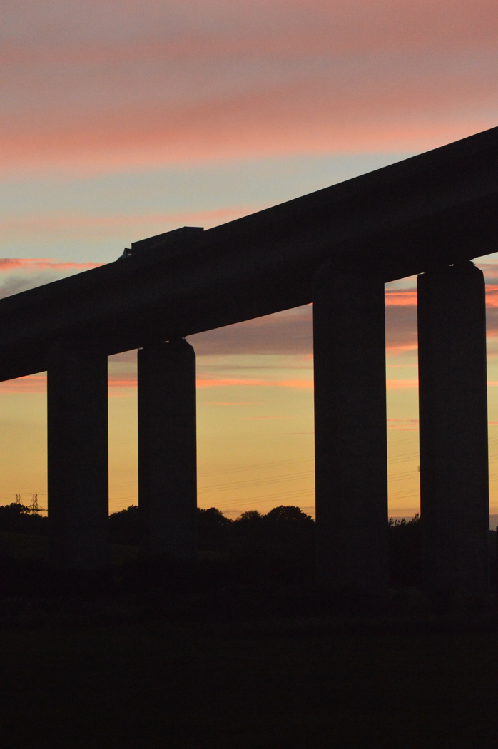 Orwell Bridge Sunset